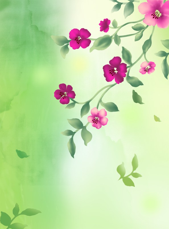 vertical flower background