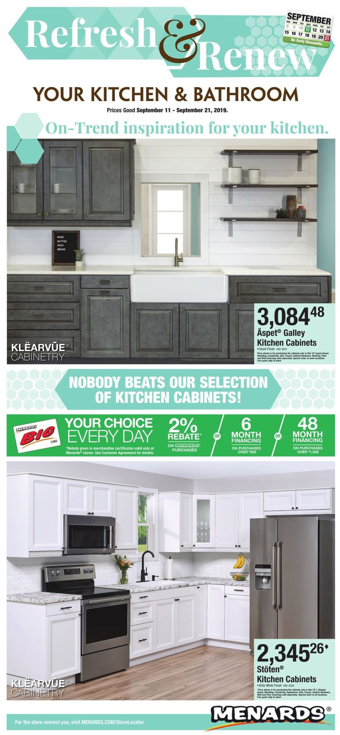 Menards Current Weekly Ad 09 11 09 21 2019 Frequent Ads Com
