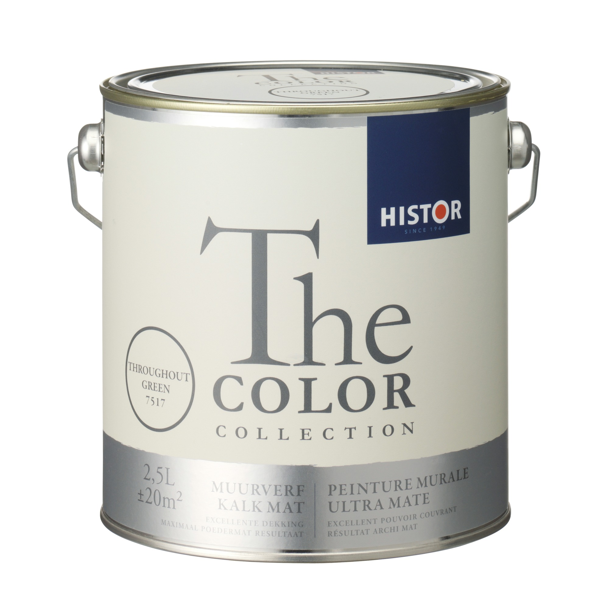 Histor Verf Gamma Histor The Color Collection Muurverf Throughout Green 2 5