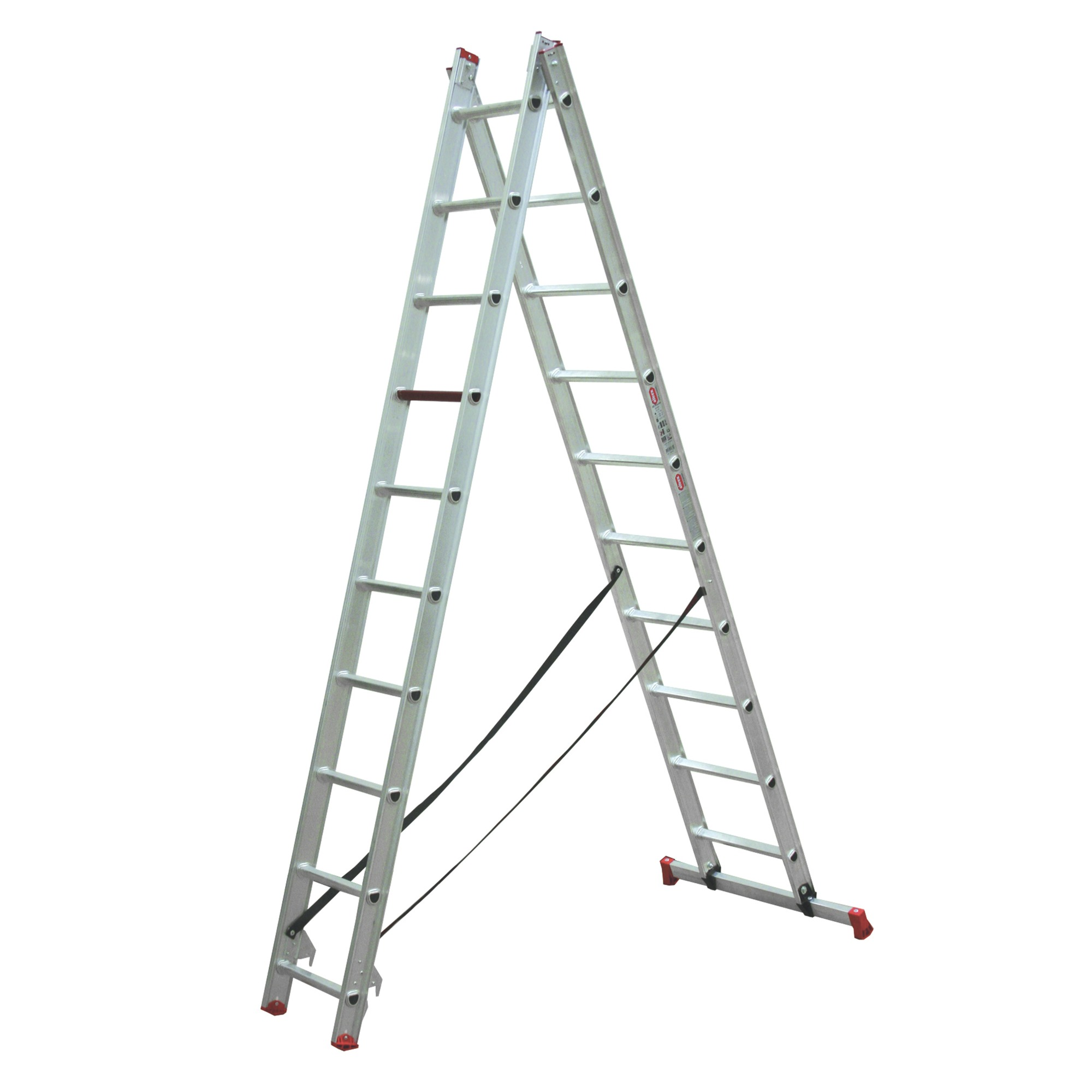 Altrex Ladder Altrex Reformladder Allround 2x10 Treden | Ladders