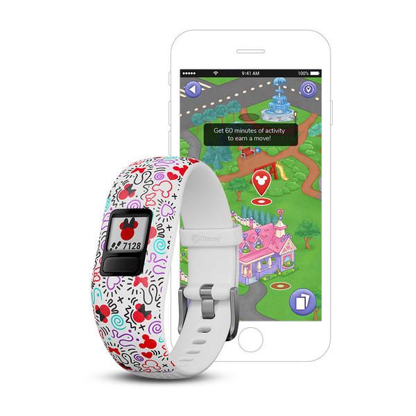 vívofit® jr 2 Kids Fitness Tracker Disney Minnie Mouse GARMIN