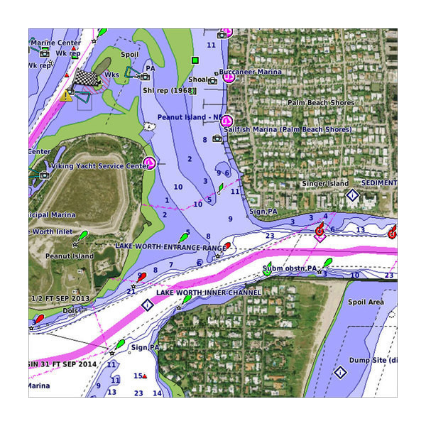VUS020R-St Lawrence Seaway Garmin
