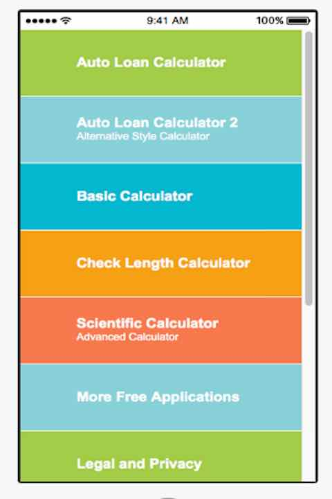 Free Auto Loan Calculator - Find The Cost Of Car Financ APK Download