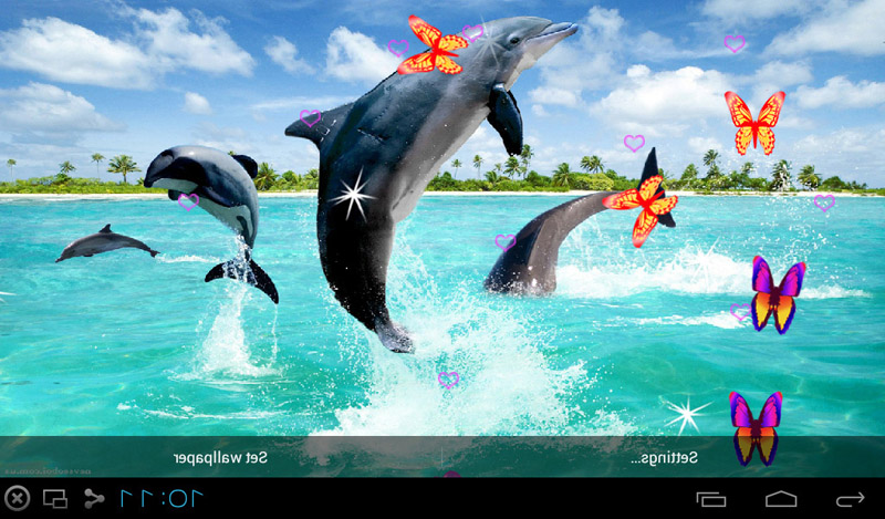 Cute Live Wallpapers For Android Apk Free 3d Dolphin Live Wallpapers Apk Download For Android