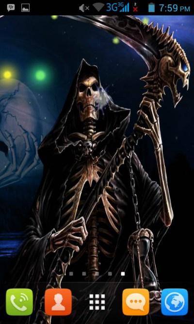 Free Grim Reaper Live Wallpaper Free APK Download For Android | GetJar