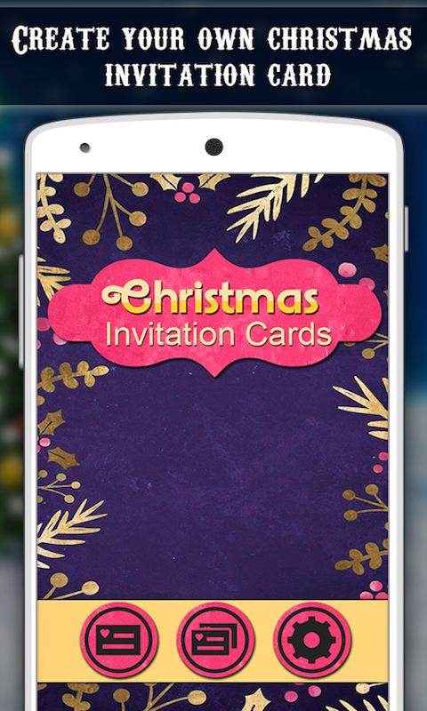 Free Christmas Invitation Cards APK Download For Android GetJar