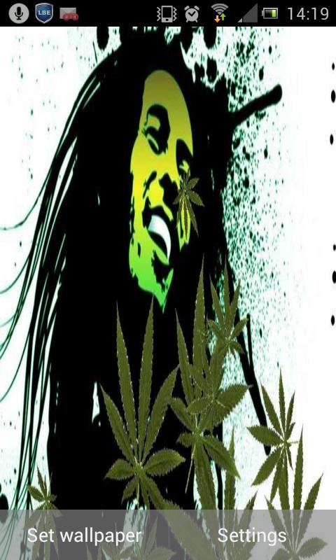 Falling Weed Live Wallpaper Apk Live Pot Leaf Wallpaper Wallpaper Directory