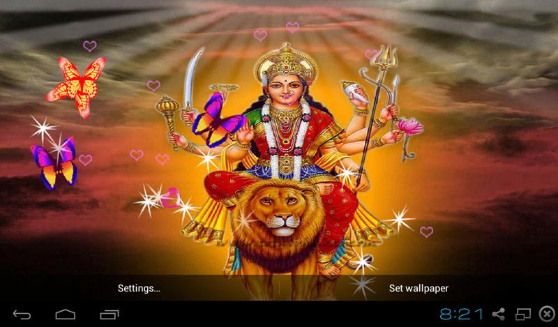 Jai Mata Di 3d Live Wallpaper Free 3d Hinduism God Live Wallpaper Apk Download For