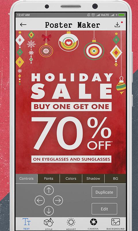 Free Flyer Maker APK Download For Android GetJar - advertisement flyer maker
