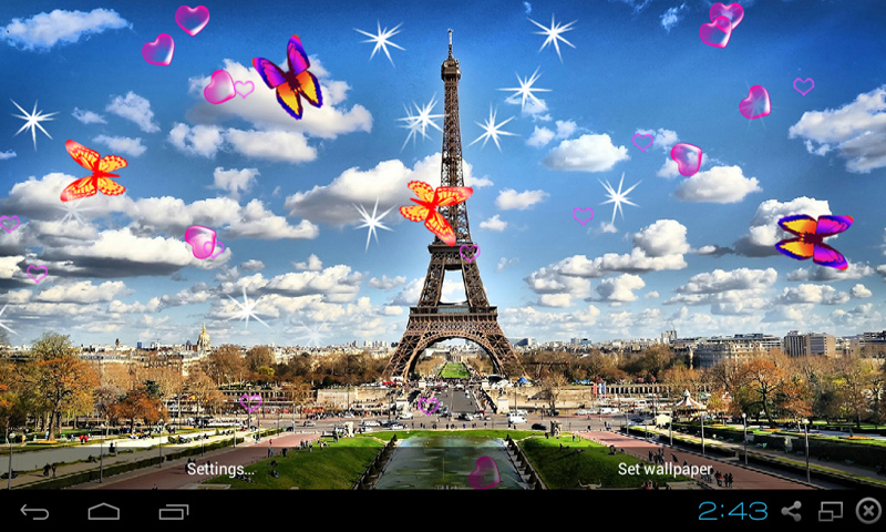 Horoscope Hd Wallpapers Free 3d Eiffel Tower Live Wallpaper Apk Download For