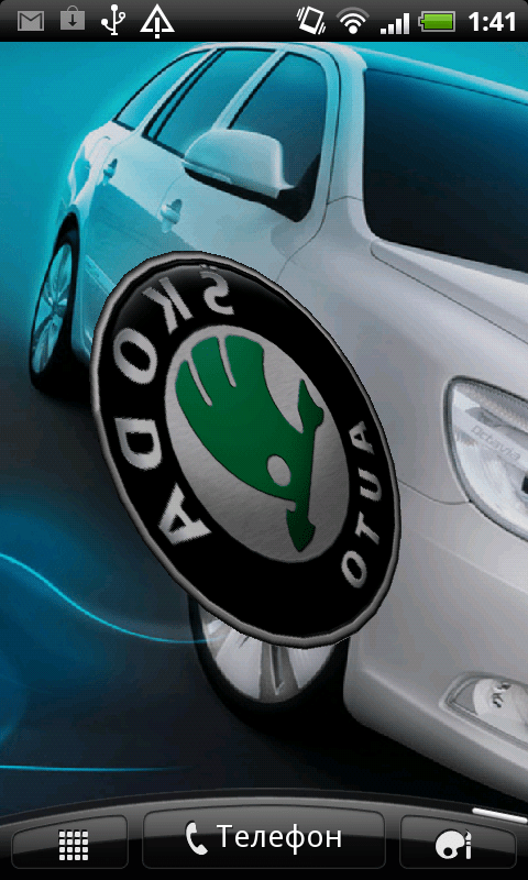 3d Effect Wallpapers Free Download Free Skoda 3d Logo Live Wallpaper Apk Download For Android