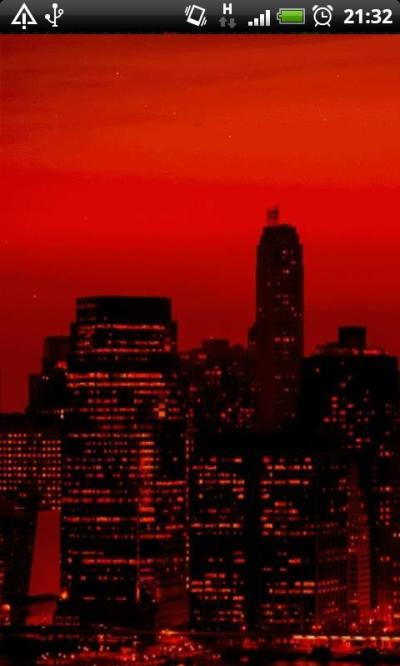 Free Red Sky At Night New York City Live Wallpaper APK Download For Android | GetJar