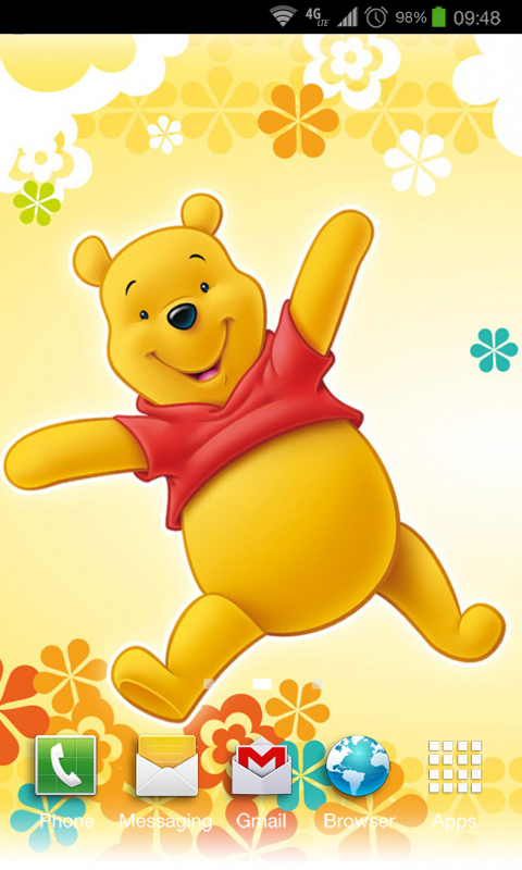 Pooh Bear Iphone Wallpaper Free Winnie The Pooh Hd Wallpapers Apk Download For