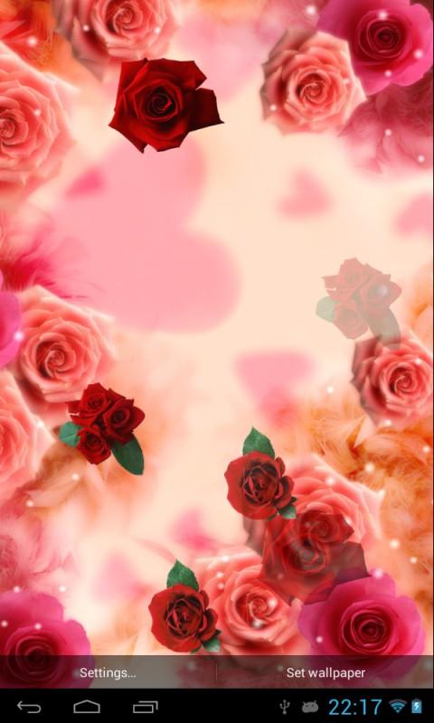 3d Hd Live Wallpaper Apk Free Red Roses Apk Download For Android Getjar