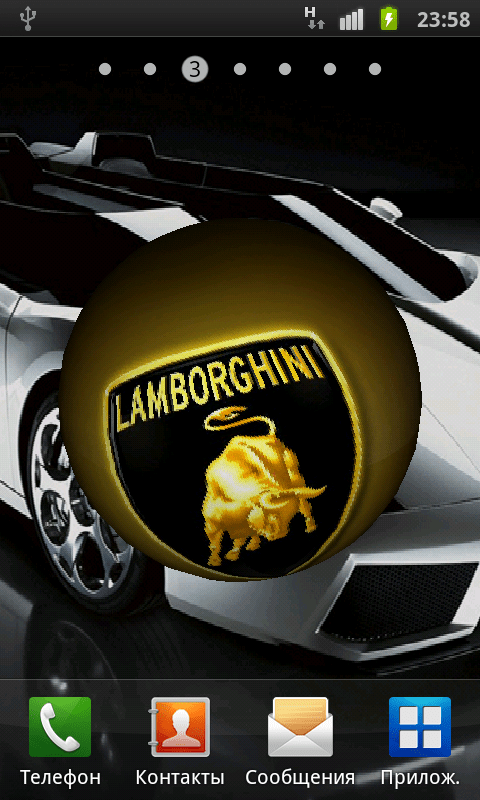 3d Cube Live Wallpaper Apk Free Lamborghini 3d Logo Live Wallpaper Apk Download For