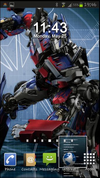 3d Wallpaper Home Screen Free Transformers Optimus Prime Wallpaper Hd Apk Download