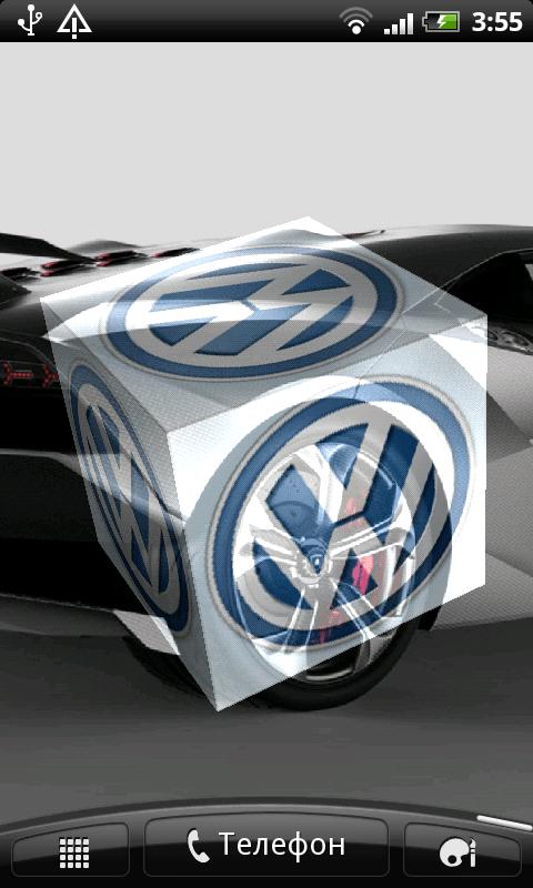 3d Cube Wallpaper Apk Free Volkswagen 3d Logo Live Wallpaper Apk Download For