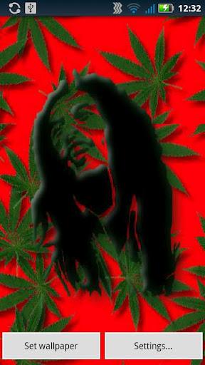 Nova Launcher 3d Wallpaper Free Bob Marley Falling Weed Live Wallpaper Apk Download