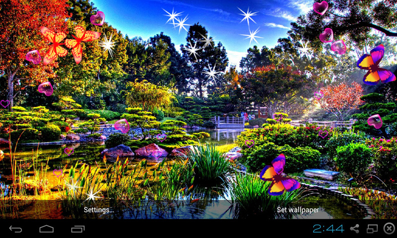 Amazing 3d Wallpapers Download Free 3d Garden Live Wallpaper Apk Download For Android