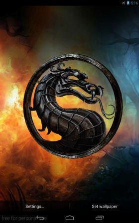 Free Mortal Kombat 3D Live Wallpaper APK Download For Android | GetJar
