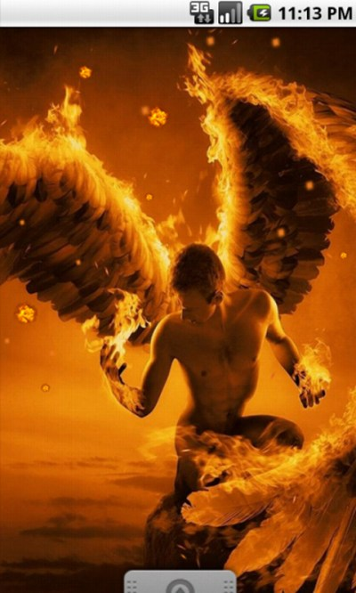 Free Flame Angel Cool Live Wallpaper APK Download For Android | GetJar