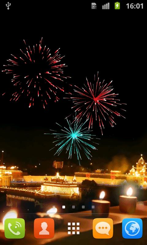 Diya Wallpaper Hd Free Diwali Crackers Live Wallpaper Apk Download For