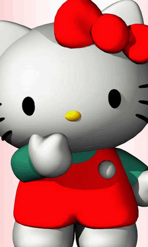 Hello Kitty Küchenmaschine Free Hello Kitty Cute 3d Wallpaper Apk Download For ...