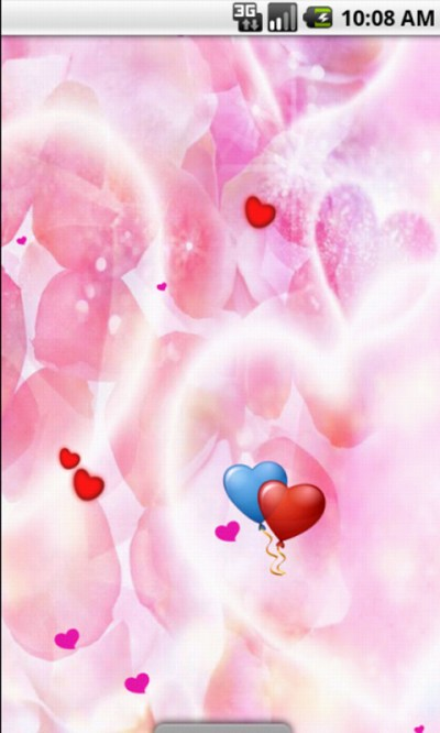Free Pink Heart Cute Live Wallpaper APK Download For Android | GetJar