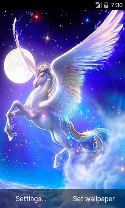 Free Pegasus Fantasy Live Wallpaper APK Download For Android   GetJar