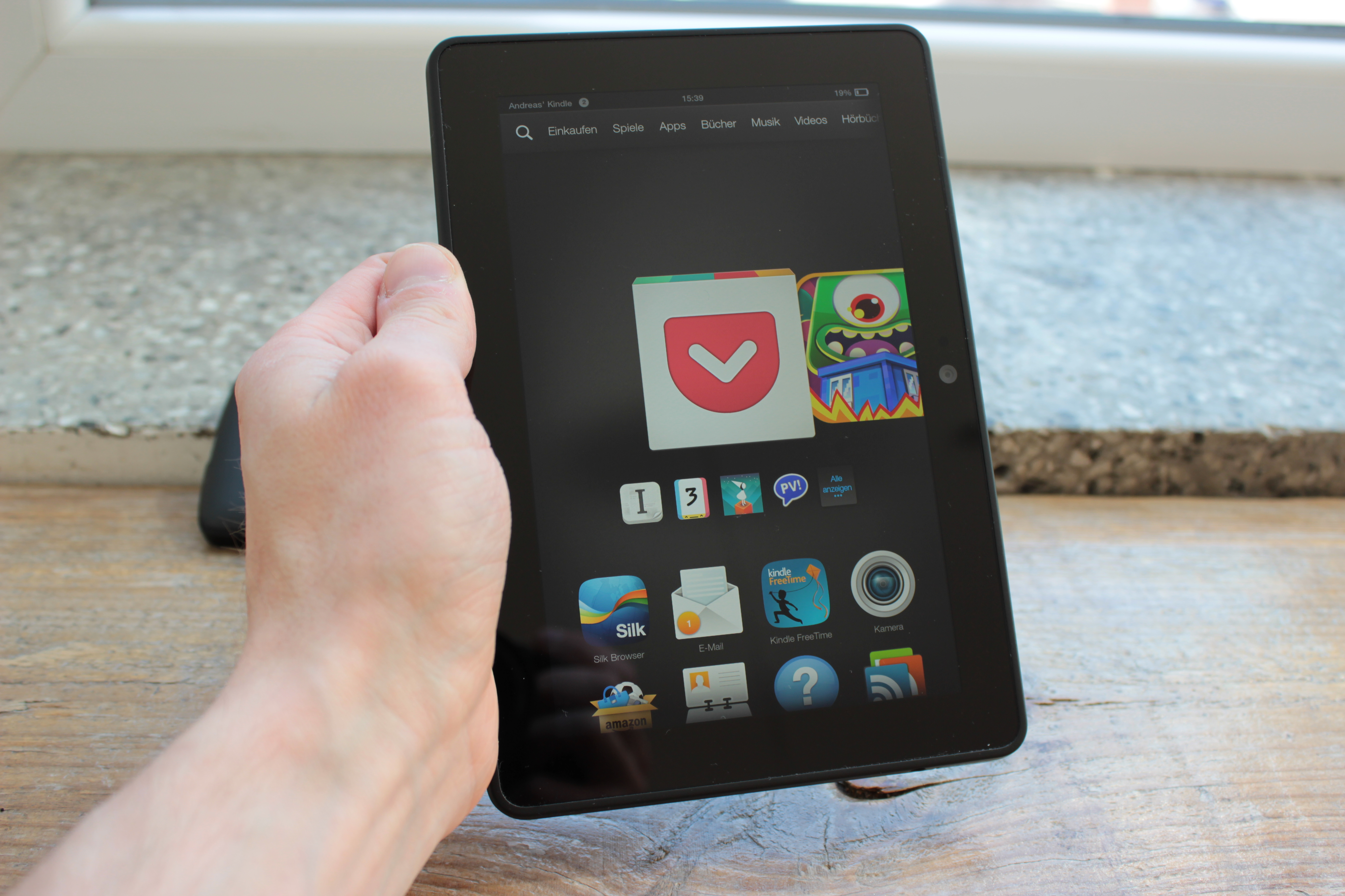 Der Tablet Kindle Fire Hdx 7 Im Test Das Amazon Tablet Unter Der Lupe