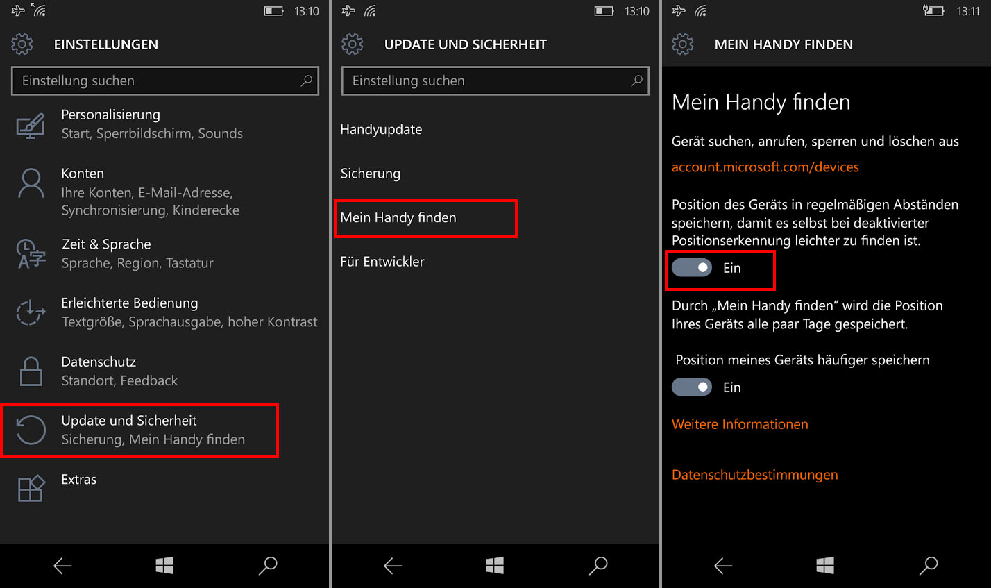 Laptop Orten Windows Phone Orten So Geht S Mit Cortana Und Co