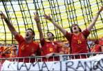 Fans Ejek Lagu Kebangsaan Italia Spanyol Terancam Sanksi UEFA Goal