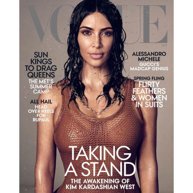 Kim Kardashian is (Surprisingly!) Vogue\u0027s May Model - Go Fug Yourself