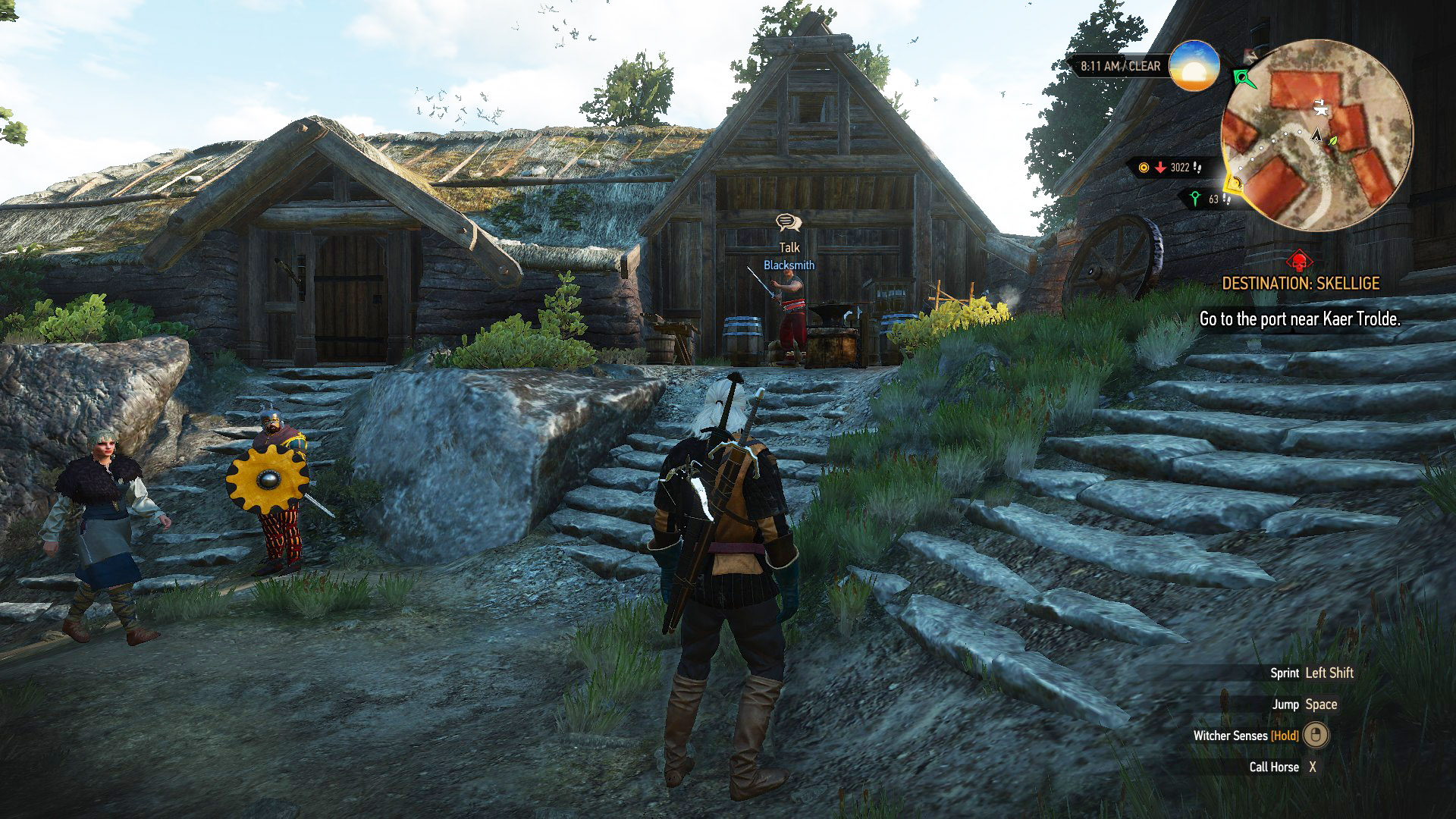 The Best 3d Wallpaper Blacksmith Locations The Witcher 3