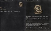 Covetous Gold Serpent Ring | Dark Souls 3 - Gosu Noob