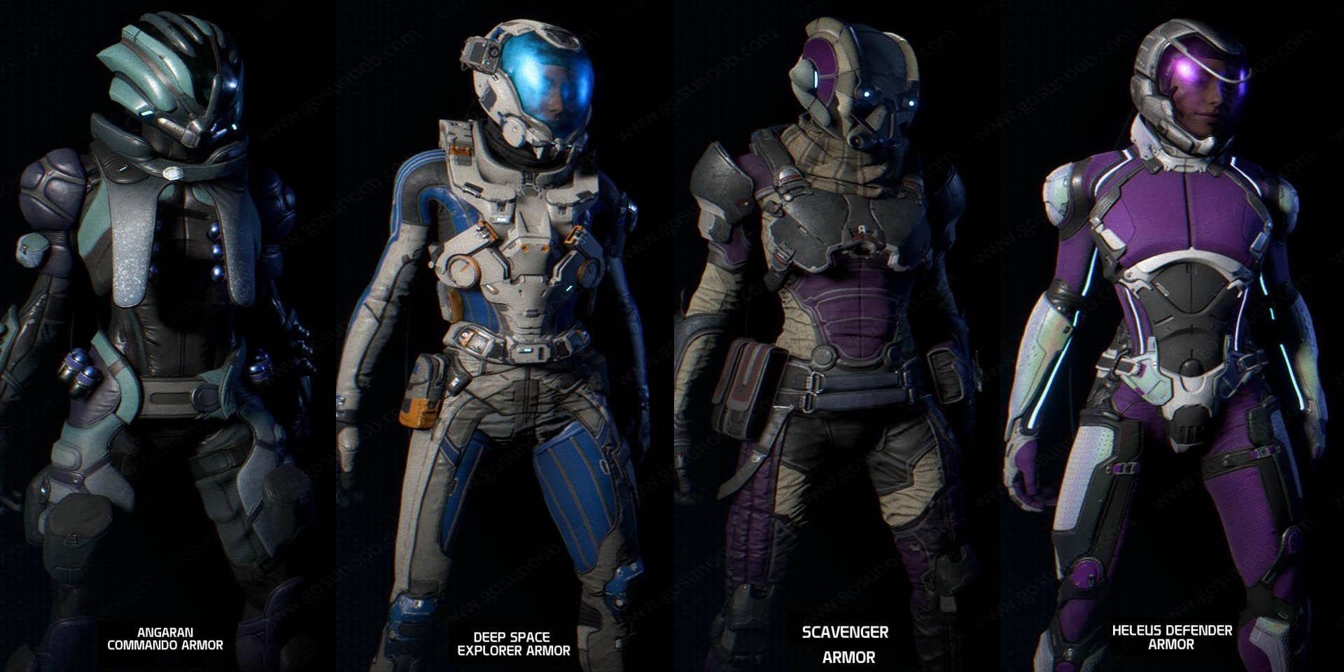 Pistol 3d Wallpaper Mass Effect Andromeda Best Armor Stats Amp How To Get