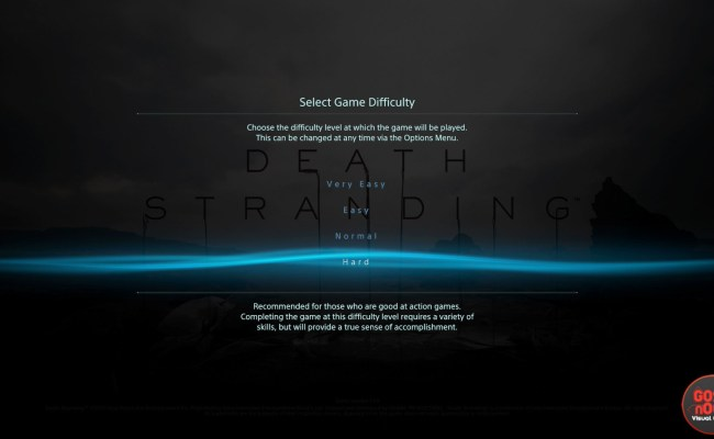 Death Stranding Game Difficulty