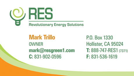Business Cards View Samples