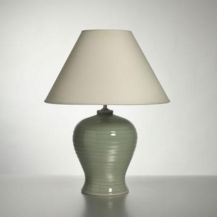 Berkshire Celadon Lamp By Simon Pearce Gracious Style