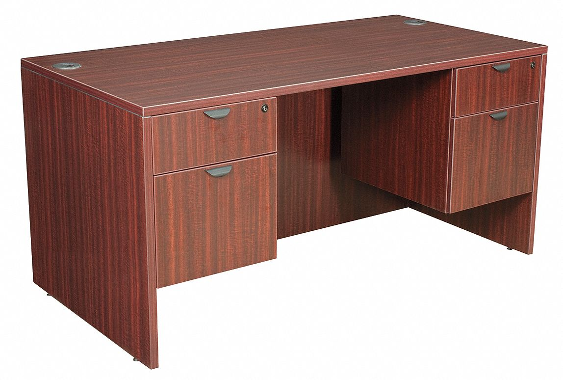 Mahogany Office Desk Office Desk 60 X 29 X 30 In Mahogany