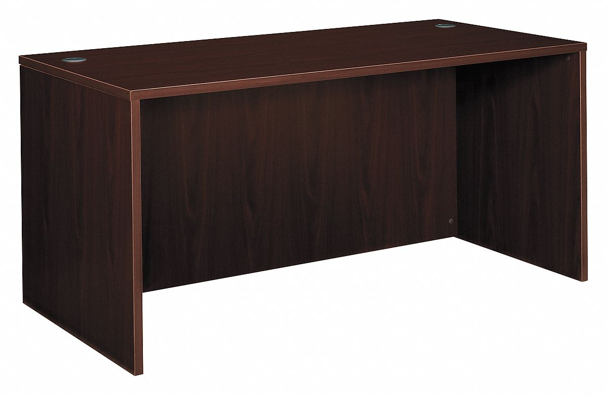 Mahogany Office Desk Basyx By Hon Office Desk Shell 60x29x30 In Mahogany 13f020