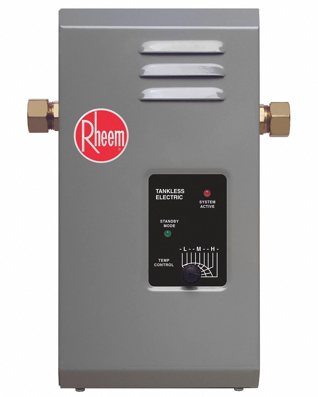 Rheem 120v Undersink Electric Tankless Water Heater 3000
