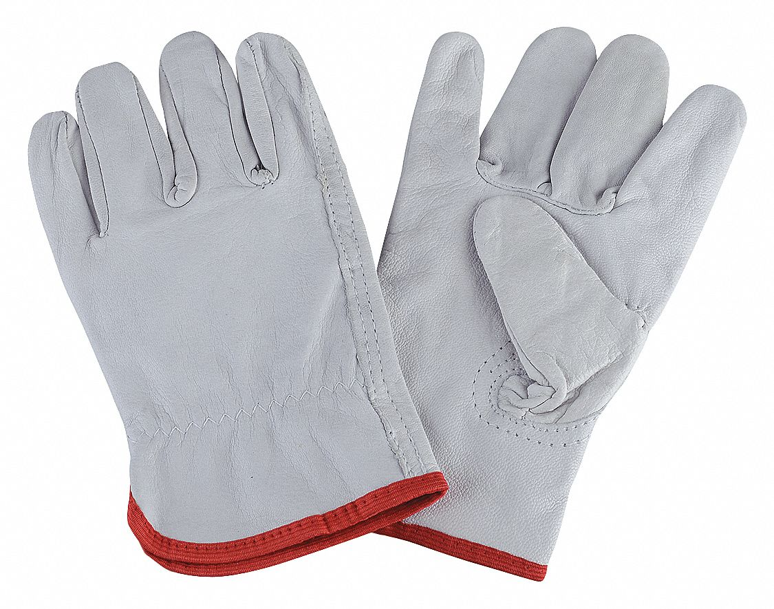 Gunn cut gloves have a single piece seamless back the entire back and all four fingers are cut from one piece of leather the palm little finger and