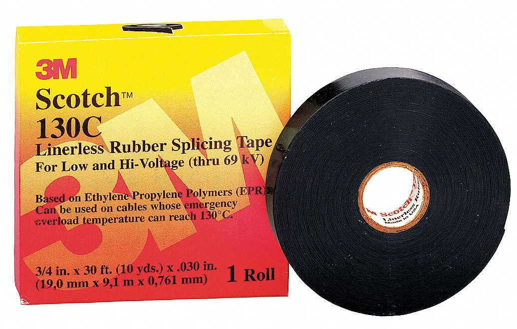 Splicing Tape Rubber Splicing Tape Rubber Tape Adhesive 30 00 Mil Thick 3 4