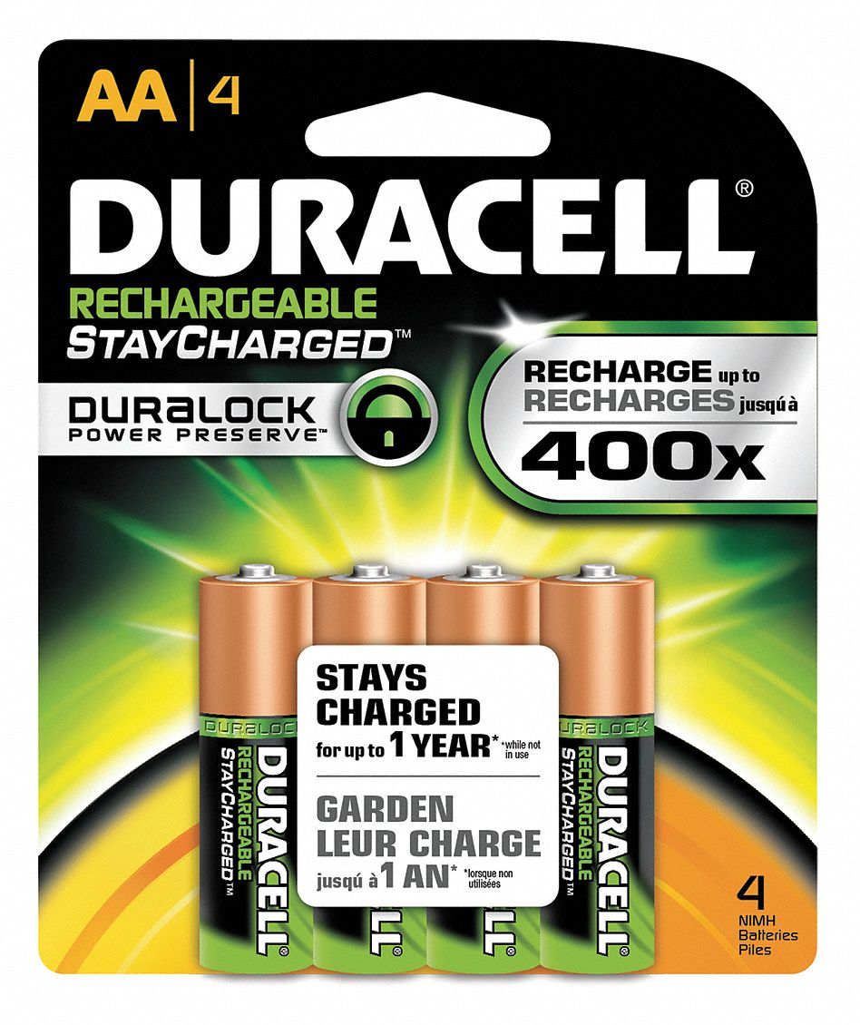 Pile Aa Rechargeable Duracell Aa Pre Charged Rechargeable Battery Nickel Metal Hydride