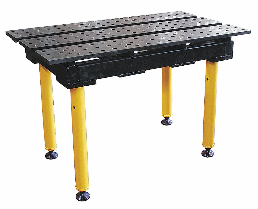 Mesa De Soldadura Buildpro Welding Table 38w 22d Cap 1300 Nitrited