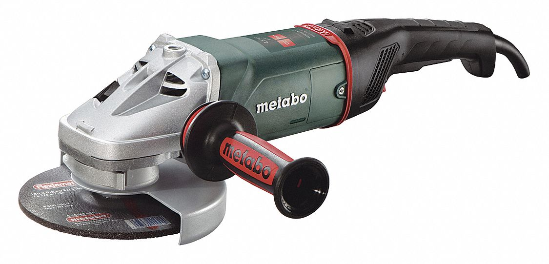 Metabo Angle Grinder 7quot Wheel Dia 15 Amps 120vac 8500