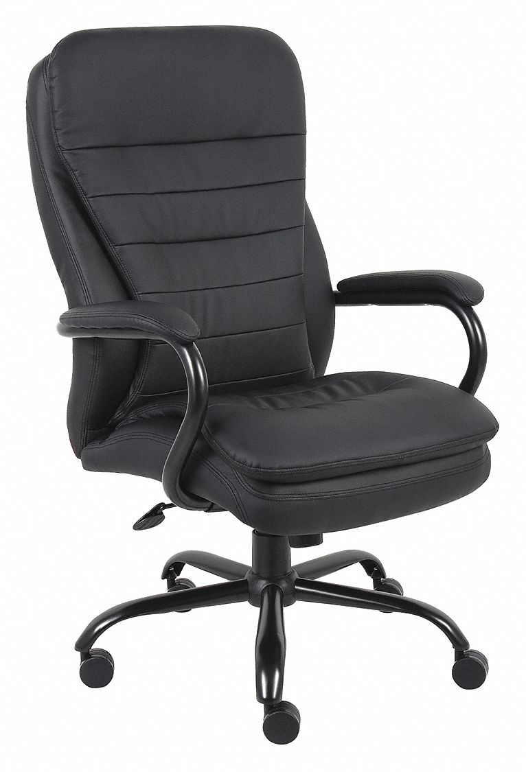 Desk Seat Black Vinyl Desk Chair 29