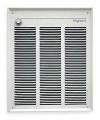 DAYTON Electric Wall Heater, Recessed or Surface, 208 ...