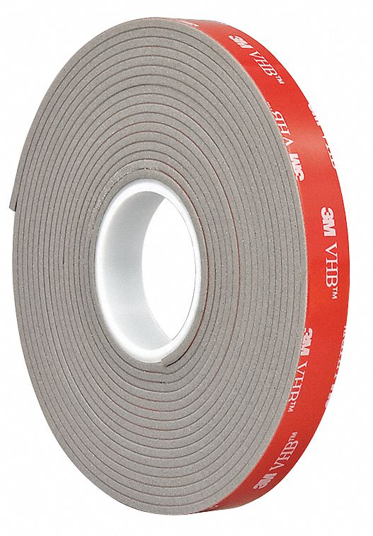 3m Vhb Tape Canada 3m Tape 1in X 5yd Gray Vhb Double Sided Tapes Wwg15c399